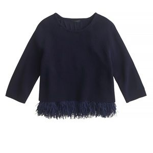 Coming Soon! J.Crew Collection Fringe Sweater